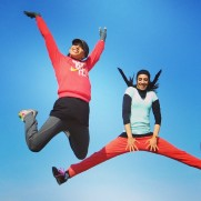 Maryam Tousi and Elnaz Company - Iranian athletes - Photo source tarafdari.com