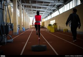 Maryam Tousi - Iranian sprint athlete - 2 - Photo credits Mona Hoobehfekr, ISNA