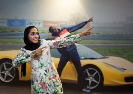 Maryam Tousi - Iranian sprint athlete - Photo source tarafdari.com